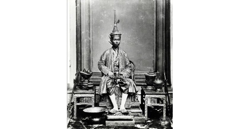 Coronation - King Rama V. from Nation Archives of Thailand